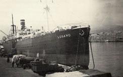 """El """"Lugano"""" llevaba a bordo 485 pasajeros de diversas nacionalidades"""