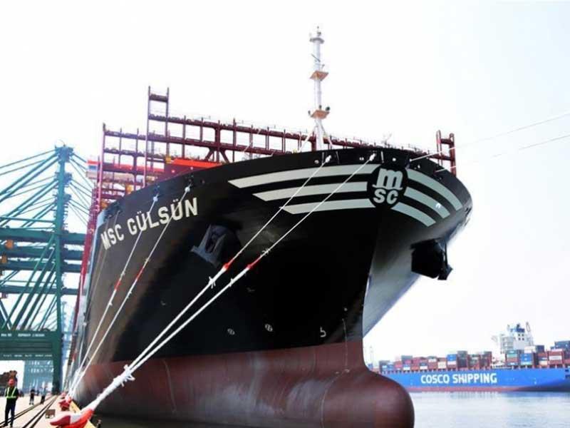 """MSC """"Gülsün"""": El buque portacontenedores más grande del mundo"""