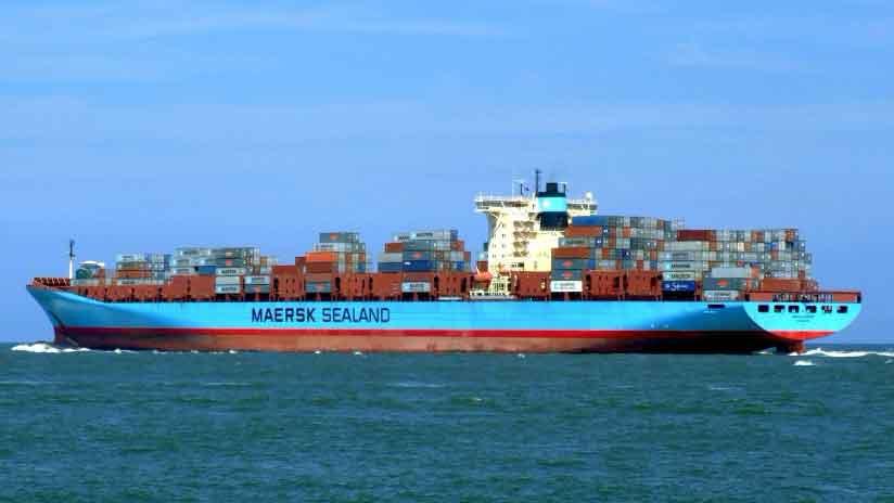 Maersk: 85% del personal administrativo global trabaja desde el hogar como medida para evitar contagios del Covid-19