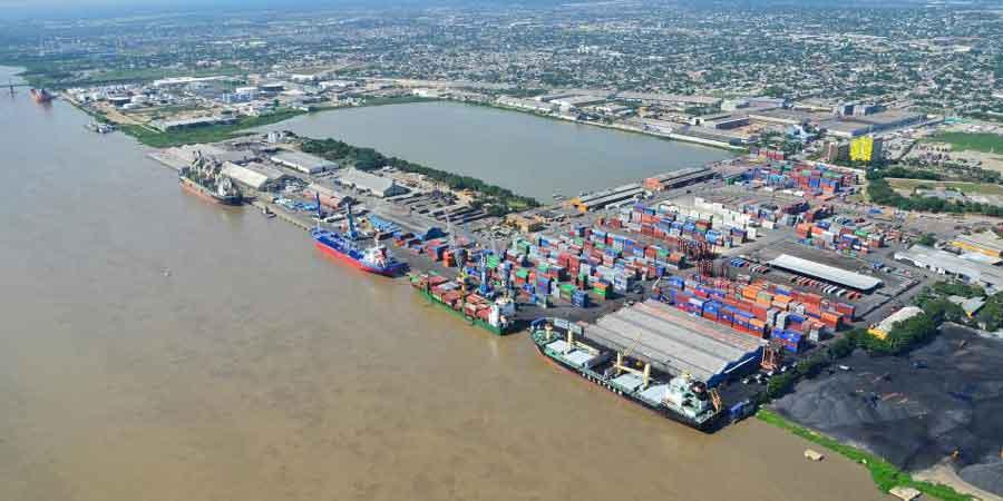 Colombia aumentó su movimiento de carga a 3,8 en Zona Portuaria de Barranquilla